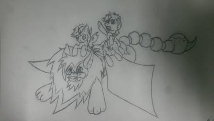 sketch friends by Sky-Sketch