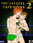 Sexual Match 2 Comic Cover by 09tuf