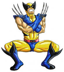 Wolverine - Color by 09tuf