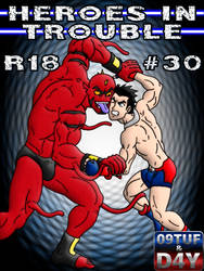Heroes In Trouble 30 - Cover - PATREON by 09tuf