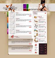 przebieralnie layout by pho3nix-bf