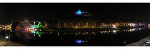 Night on the river by barninga