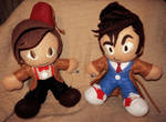 newest ten and eleven plushes by niitsvee