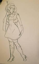 inktober day 16 - a princess by niitsvee