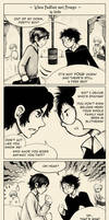 When Padfoot met Prongs by Sirilu