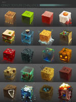 Crazy Texture challenge - Pack 1 by odablood