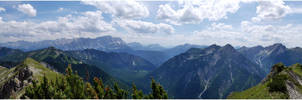 Bavarian mountains II by lomartistic