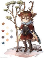 Forest Guardian Auction (Closed) by AQUA-Bunni