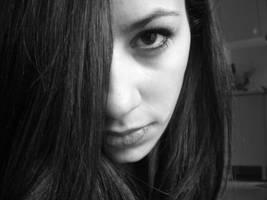 half me. by violetda