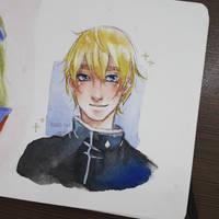 Male! Asu Rito by OhKaderegi