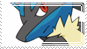 x_. Lucario Stamp ._x by Breeto