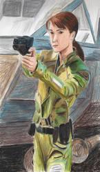 Sharon 'Boomer' Valerii by Taipu556