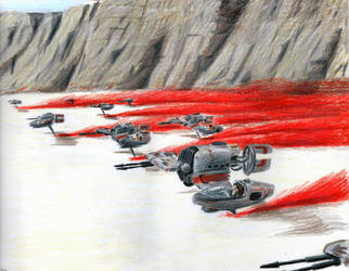 Battle of Crait-Resistance by Taipu556
