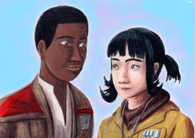 Finn and Rose by Taipu556