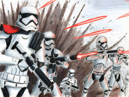 First Order Stormtroopers by Taipu556