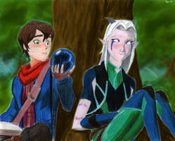 Callum and Rayla by Taipu556