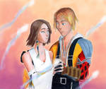 Tidus and Yuna by Taipu556