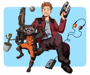 Guardians of the Galaxy by B3r3-Tr4sh