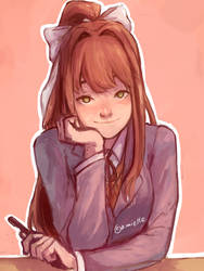 JUST MONIKA by amiette