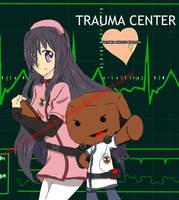 Katawa Shoujo x Trauma center fanart by I-am-Miss-Duckie