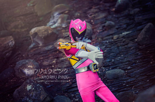 Kyoryuger Pink / Dino Charge Pink by mariesturges