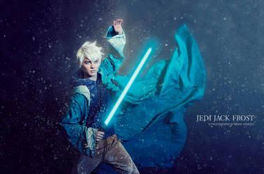 Jedi Jack Frost by mariesturges
