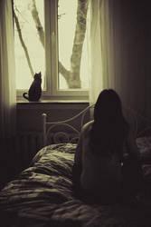 Waiting for winter by artofinvi