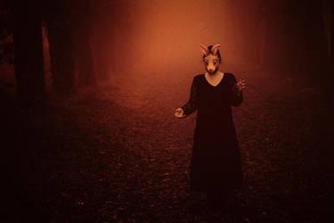 She brought the Night by artofinvi
