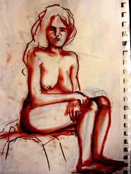 nud model 3 by angel-poloo