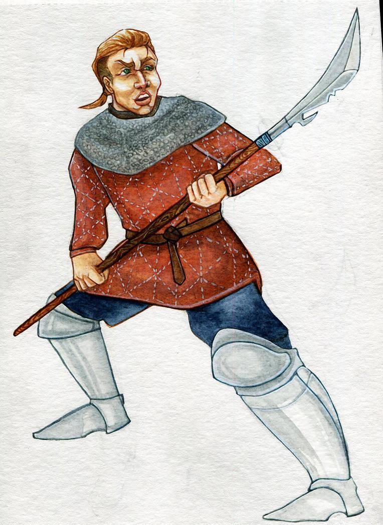mercenary paladin - uzalu by angel-poloo