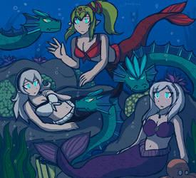 An Underwater Summer by Eaglet1