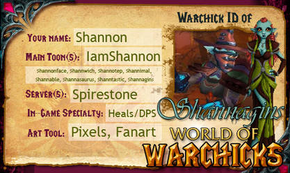 Warchick ID by Shannagins