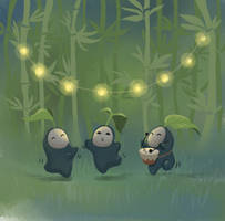 Bamboo Party by ThreeLeaves