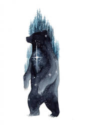 Mountain Bear by ThreeLeaves