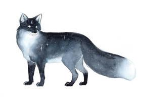Galaxy Fox by ThreeLeaves