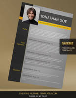 Free-resume-template by bhertzel