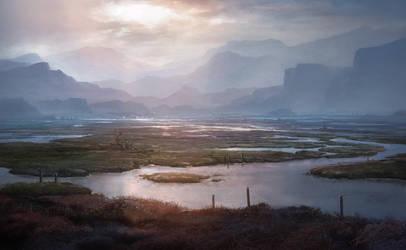 Marshland by merl1ncz