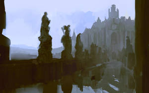 Remnants - speedpainting by merl1ncz