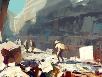 Quarry - speedpainting by merl1ncz