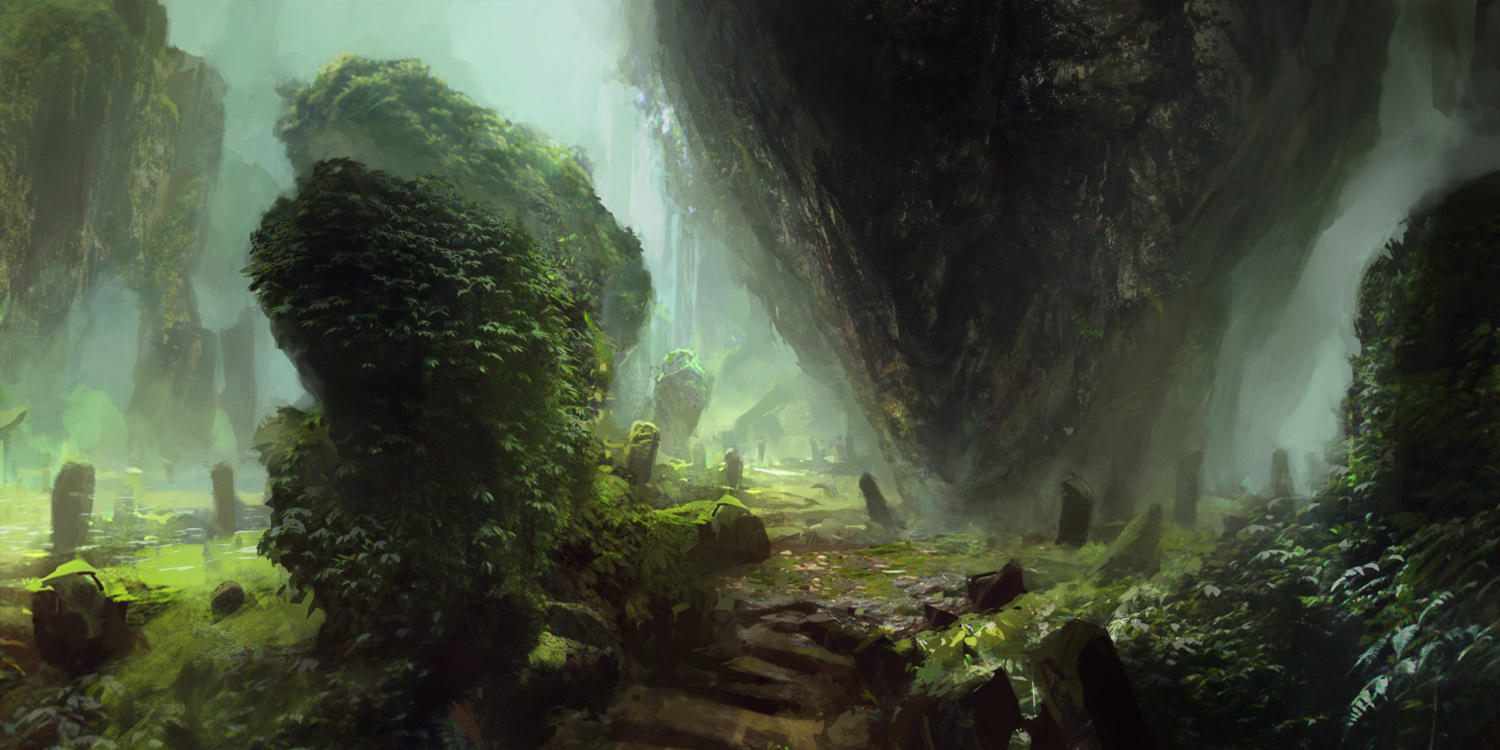 Deep down in the gorge by merl1ncz