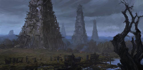 Cities of Mud by merl1ncz