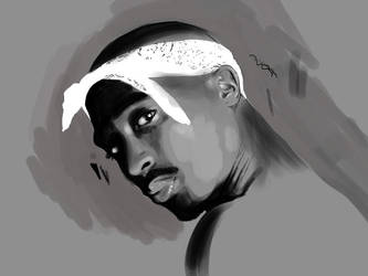 2pac by aso78