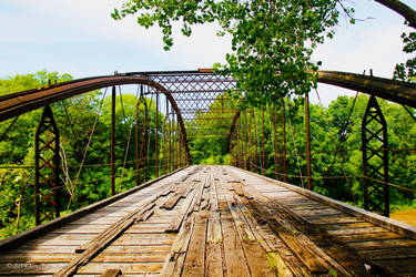 1903 wooden bridge 2 by JStPeterPhotography