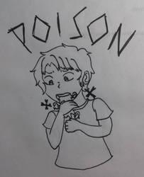 Inktober2017 Day 3 Poison by Bonniecristalheart
