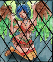 Caged Songbird by TheVampireNeko