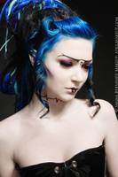 Futuristic Geisha by TwiggX