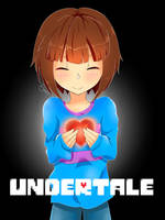 Undertale - Player (Frisk) by AremiAltaria-san