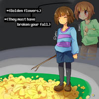 Undertale - Golden Flowers by AremiAltaria-san