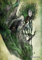 Dryad by ginL