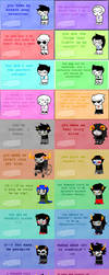 homestuck valentines notes by lal0nde